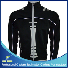Reflective Piping Cycling Apprel Jacket for Cycling Wear