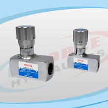 DRV Series Throttle Check Valves & DV Series Throttle Valves