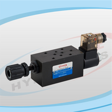 MSTCV Series Modular Solenoid Operated Throttle Check Valves