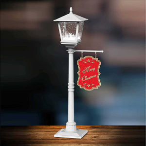 Snowing small street lamp christmas light LED decorative lamp