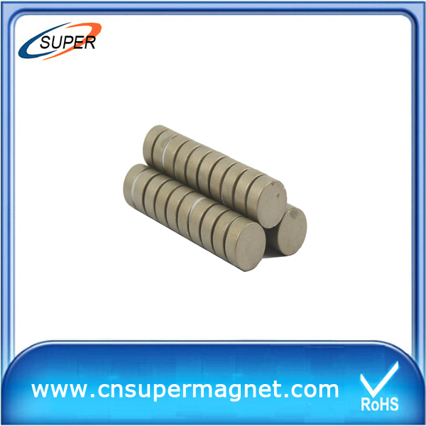 Hottest sale D15*4mm Sintered SmCo Magnet