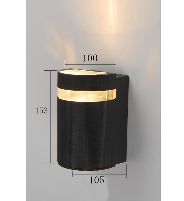 cheap wall sconce lighting. Waterproof Matte Black GU10 Outdoor Wall Sconce (KA-G81/1) Cheap Lighting