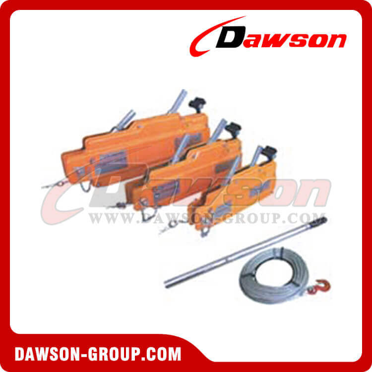 Wire Rope Pulling Hoist Steel Body, Wire Rope Hand Winch, Wire Rope ...