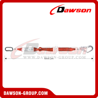 DS6105A Energy Absorbers Webbing Lanyards EN355 EN354