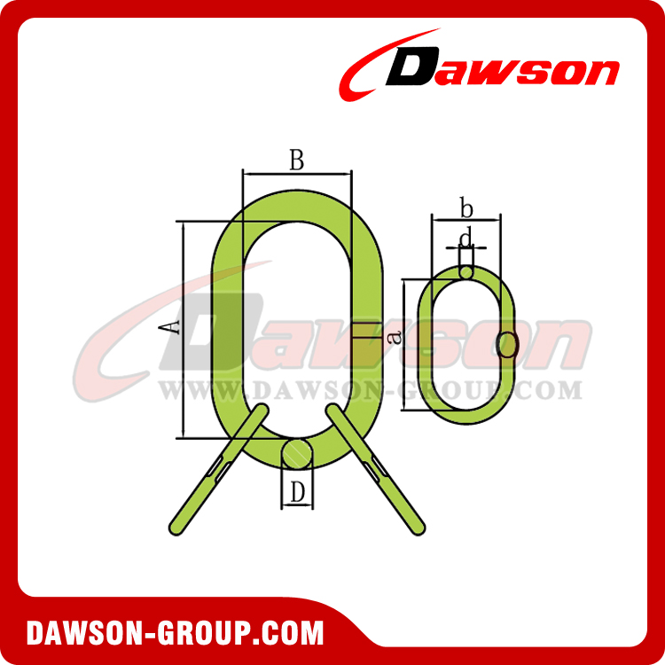 DS1012 G100 Master Link Assembly - DAWSON GROUP LTD. - CHINA MANUFACTURER, SUPPLIER, FACTORY