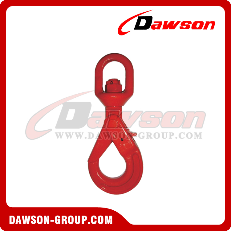 DS083 G80 EUROPEAN SWIVEL SELFLOCK HOOK - DAWSON GROUP LTD. - CHINA SUPPLIER