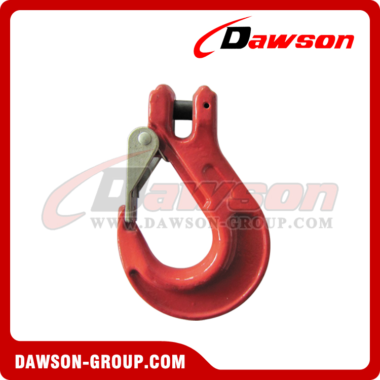 DS333 G80 CLEVIS SLING HOOK WITH CAST LATCH - DAWSON GROUP LTD. - CHINA MANUFACTURER SUPPLIER, FACTORY