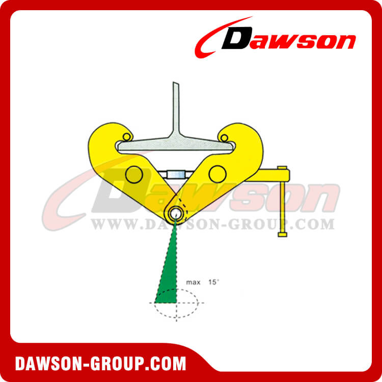 Application of DS-YC Type Beam Clamp