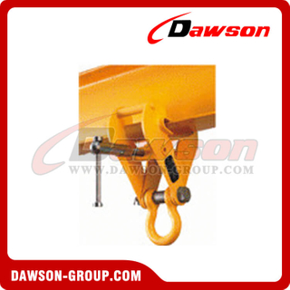 DS-BC Type Beam Trolley Clamp with Bow Shackle