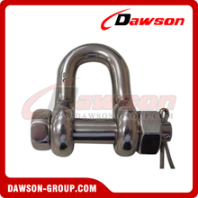 Stainless Steel Bolt Chain Shackle Safety Pin Nut