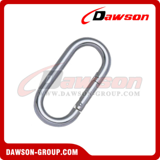 Stainless Steel Straight Snap Hook