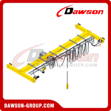 DIN/FEM Standard Electric Under Running Crane For Lifting