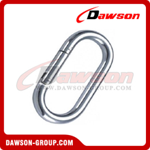 Straight Snap Hook with Zinc Plated