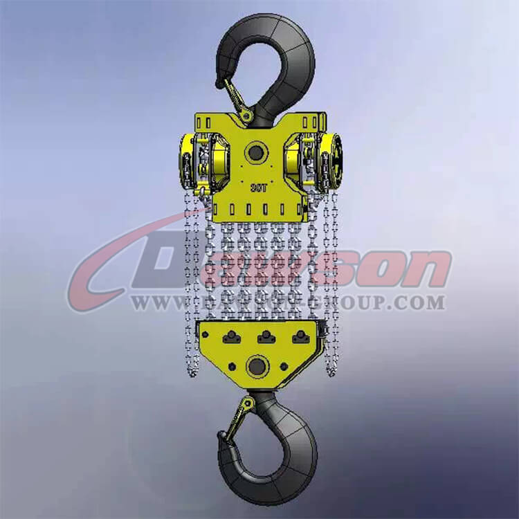 30Ton Heavy Duty Lifting Chain Hoist, Chain Blocks