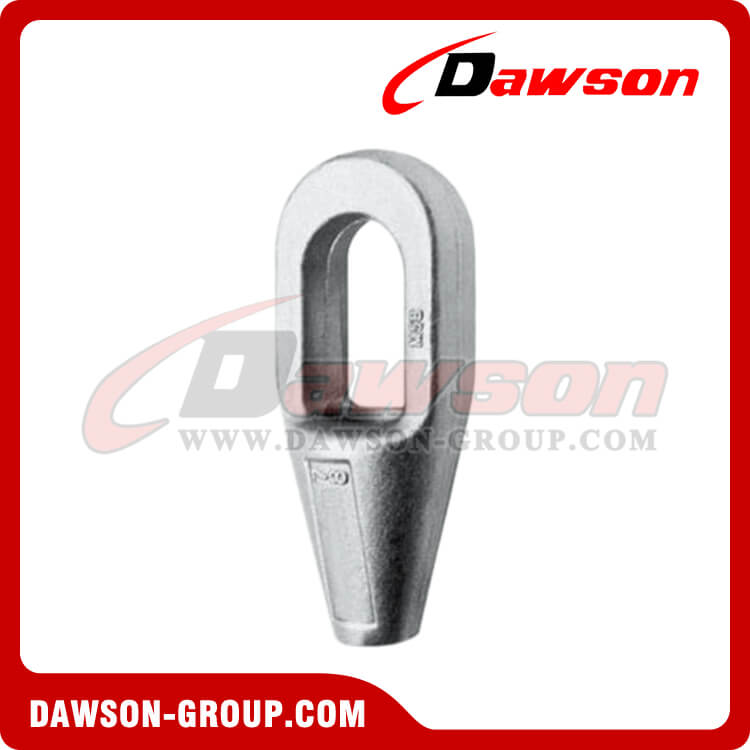 High Tensile Steel Cast Closed Spelter Sockets for Wire Rope