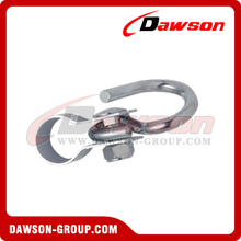 Stainless Steel Collar Hook with Swing Hook