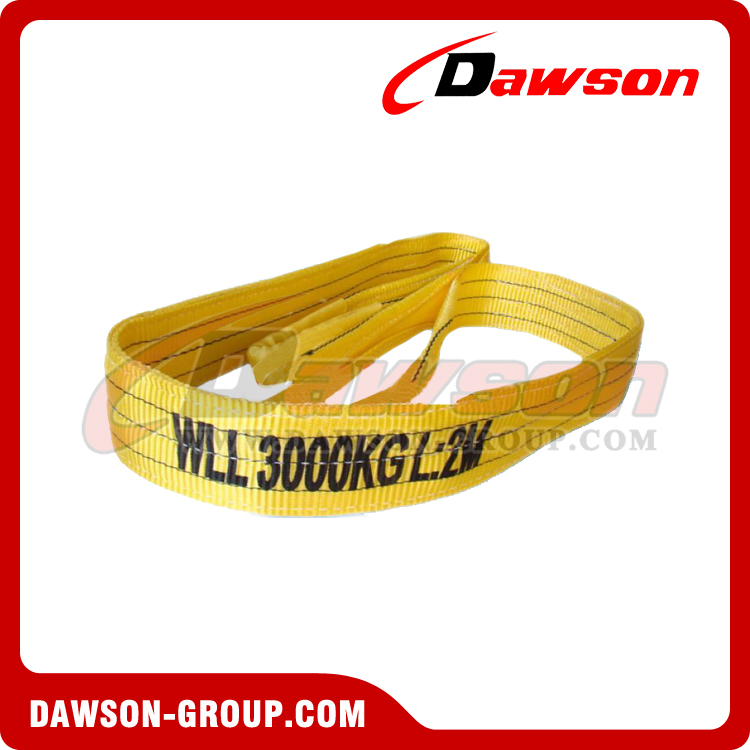 Dawson Group 3 Ton Polyester Webbing Slings - Lifting Slings - China Manufacturers, Suppliers