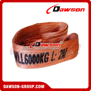 WLL 6 Ton Polyester Webbing Slings - Lifting Slings