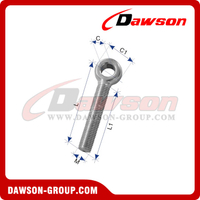 Stainless Steel Eye Bolt Full Thread