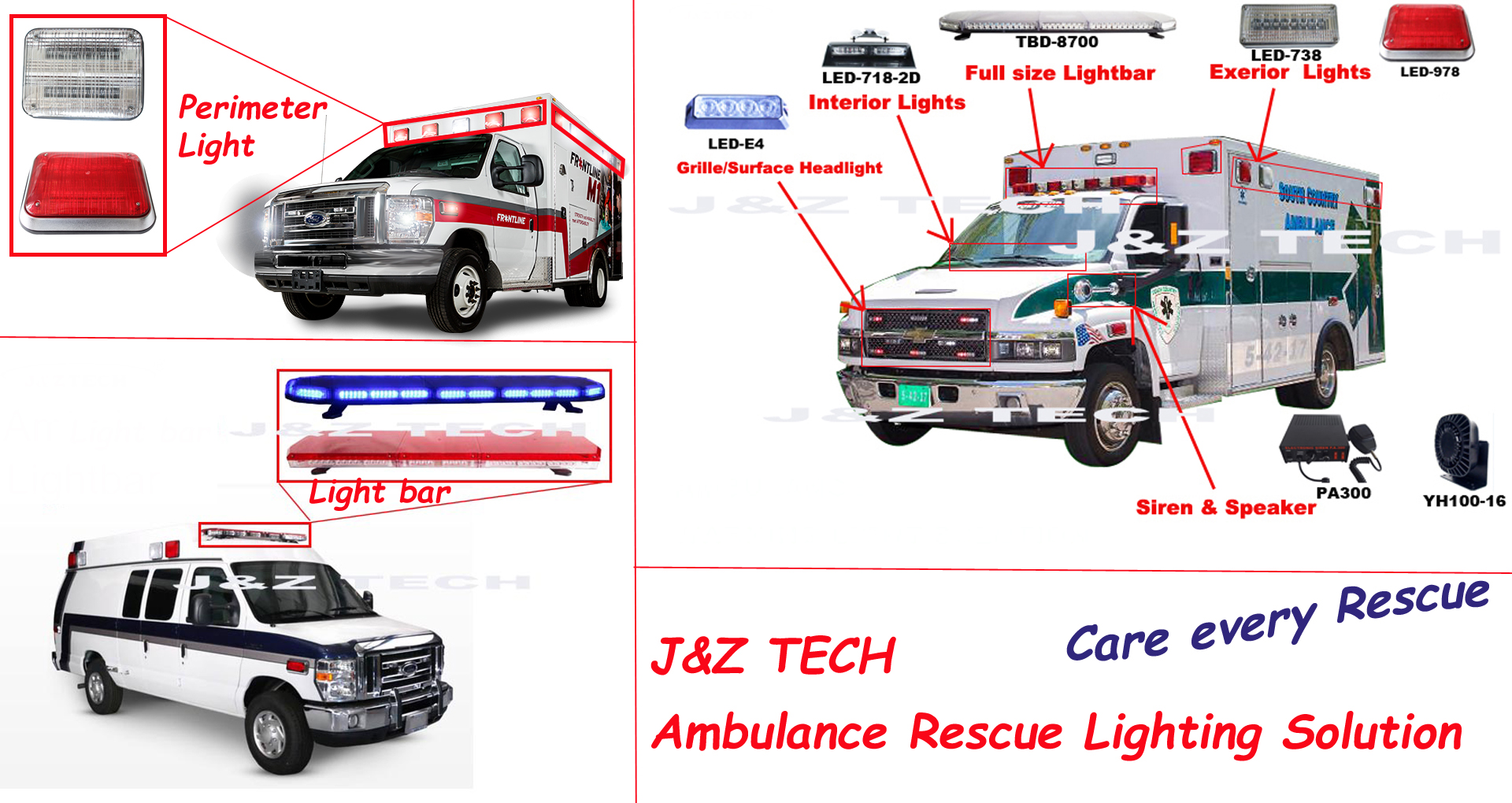 How jz ambulance perimeter light to be no1 ambulance lighting solutionsg aloadofball Image collections