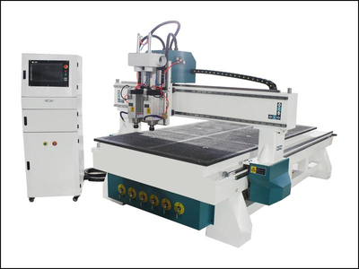 Double processing wood router engraving machine