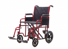 YJ-010C Heavy duty Steel transit wheelchair