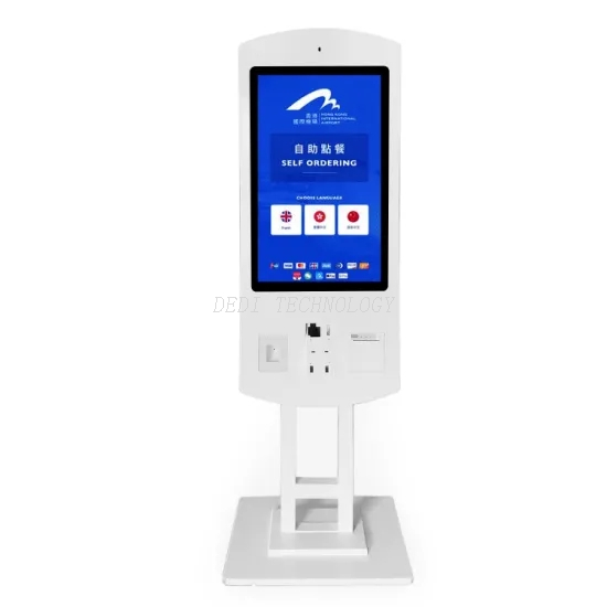 24 Inch Touch Android Interactive Self-Service Payment Kiosk Vending Machine for Restaurant Ordering