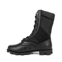 MILFORCE 5203 black waterproof military jungle boots