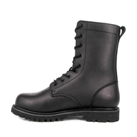 Military army goodyear good quality full grain leather boots 6206