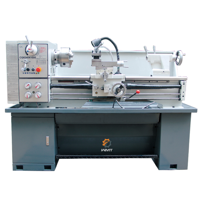 "CQ6240 16""x40"" Metal Lathe Metalworking Metal Gears Bench Top Lathe"