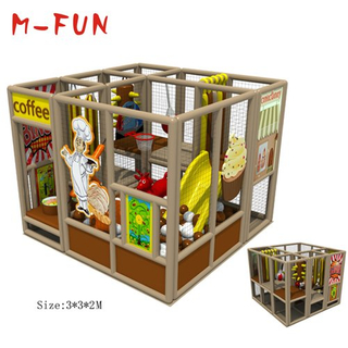 Children indoor playground with slides for sale