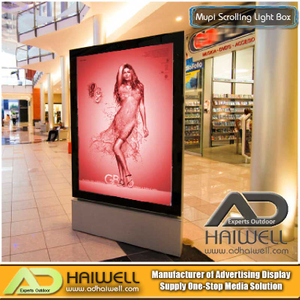Airport Mupi Advertising Light Box - Señales interiores