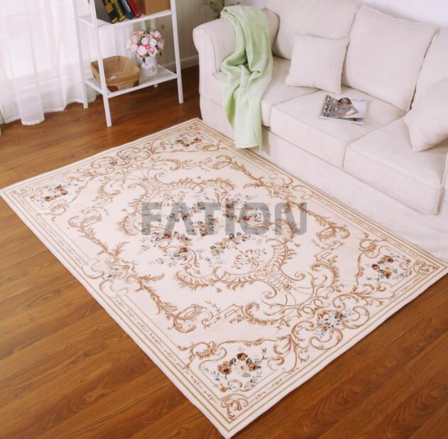 Machine Print Traditional Style Rug Floor Carpet