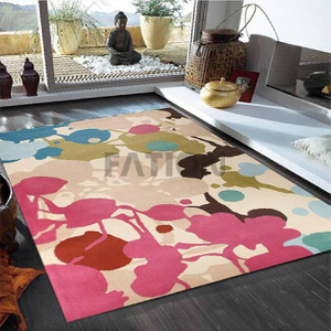 Contemporary Colorful Design Floor Carpet Home Area Rug