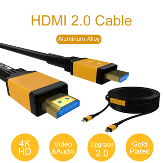 4K 3D HDMI 2.0 Fiber Optic Cable AOC 18Gbps 100m