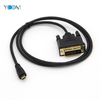 1080P 4K Micro HDMI Cable To DVI Cable