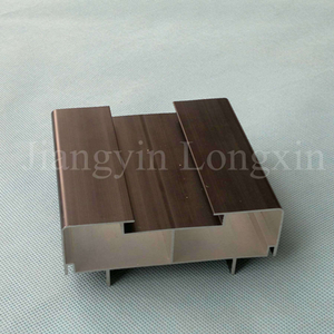 Black Anodized Aluminium Profile for LED
