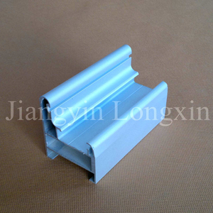 Silver Anodized Matt Aluminium Profile for Doors