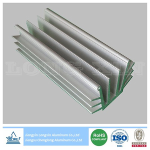 Anodized Aluminum/Aluminium Profile for Heatsink