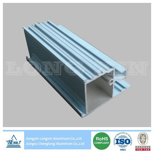 Blue Powder Coated Auminium Frame for Window