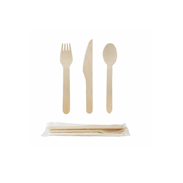 160mm Wooden Disposable Spoon