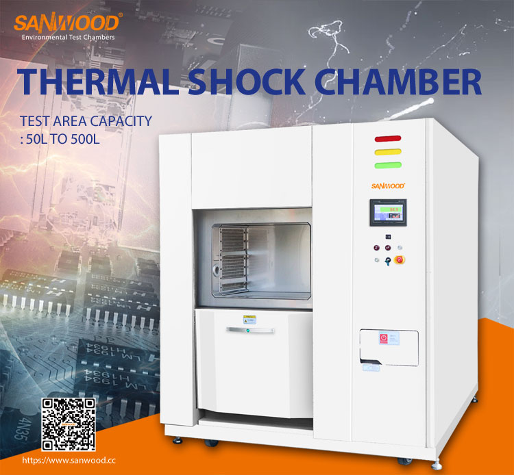 Three-zone-Thermal-Shock-Test-Chamber