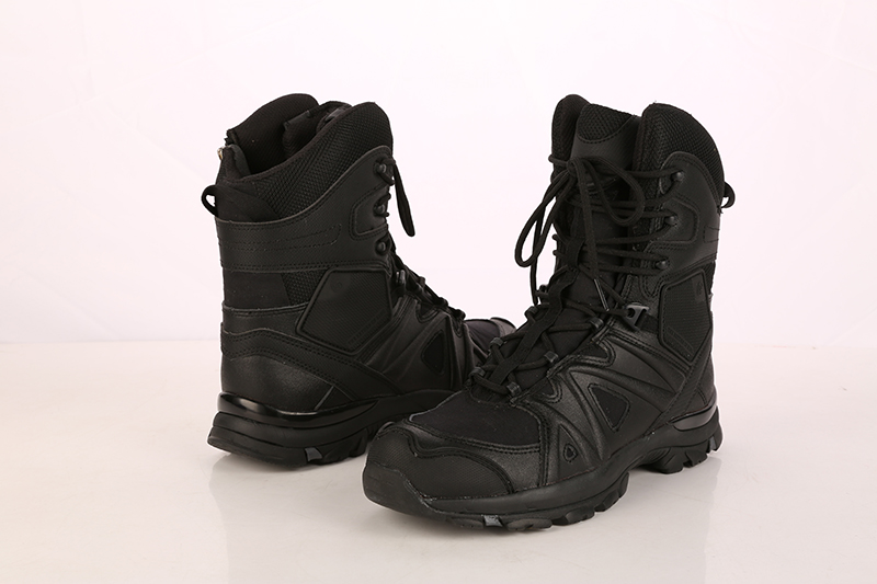 99013 genuine leather cemented military army boots