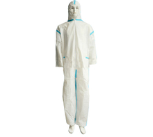 Disposable microporous coverall garments