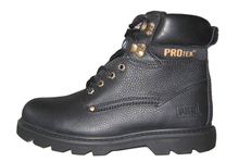 RMC-1B cow tumble leather security work boots