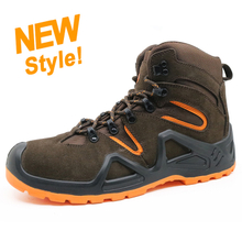 ENS019 new style suede leather sport hiking safety shoes italy