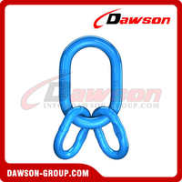 G100 / Grade 100 Master Link Assembly With Flat for Wire Rope Lifting Slings