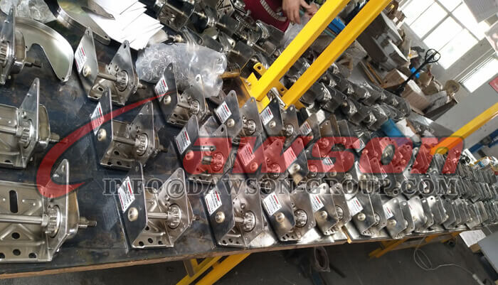 Stainless Steel Hand Winch - Dawson Group Ltd. - China Manufacturer, Factory
