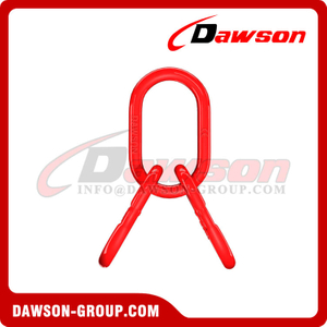 DS488 G80 Power Plastified European Type Master Link Assembly for G80 Chains / Wire Rope Lifting Slings