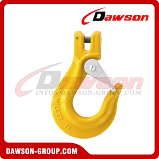 DS014 G80 Clevis Sling Hook with Latch for G80 Lifting Chains